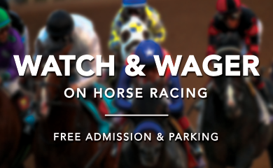Simulcast Racing: Free Admission & Parking (Live Racing Canceled)