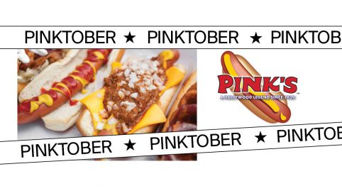 Pinktober with Pink's Hot Dogs benefiting the American Cancer Society