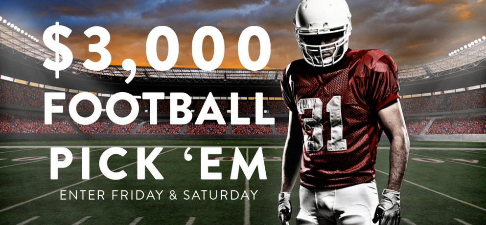 $3,000 Football Pick 'Em For the Big Game