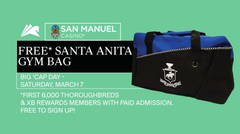 Gym Bag Giveaway presented by San Manuel Casino