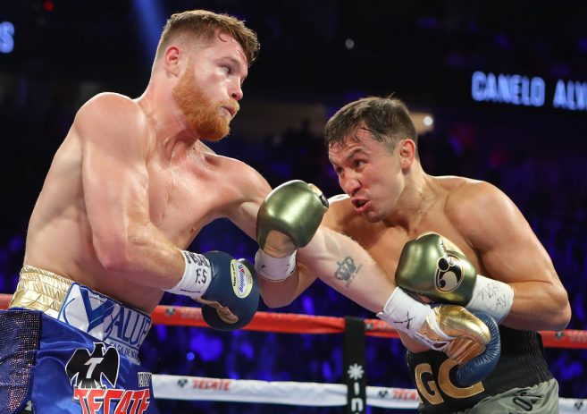 Undefeated Middleweight Champion Gennady Ggg Golovkin To