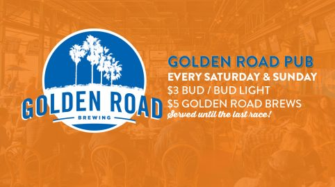 Golden Road Pub at Santa Anita