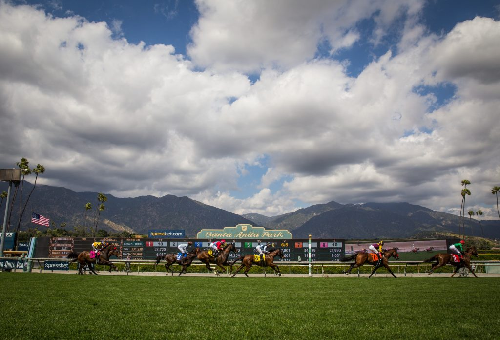 Beauty Shot Pan Metz Santa Anita Park