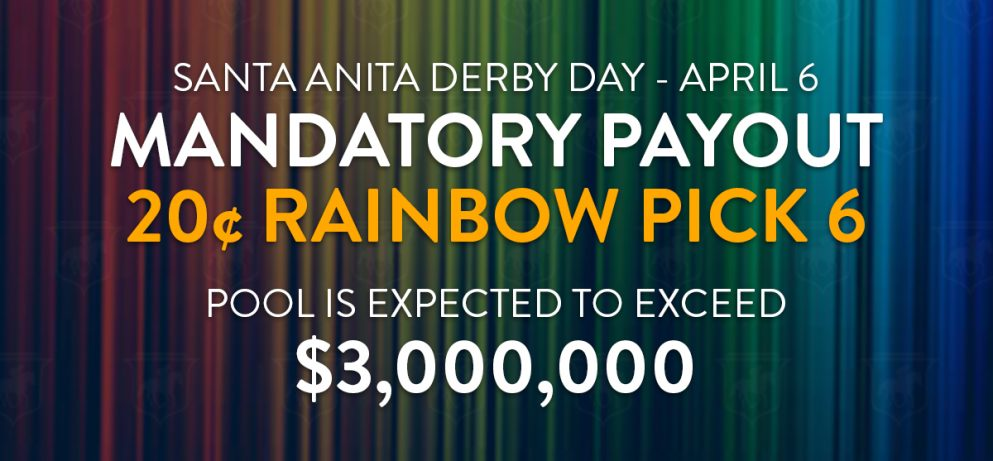 Rainbow Pick 6 Mandatory Payout