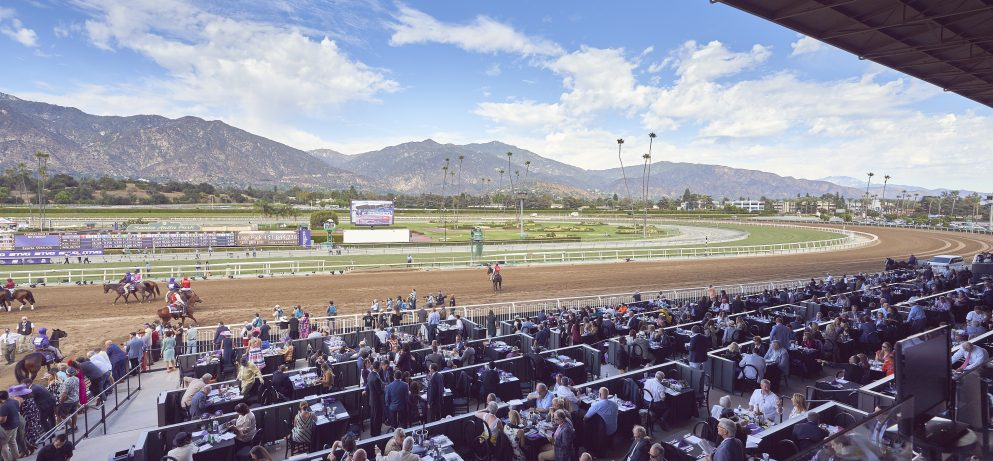 Trackside Dining on Opening Day