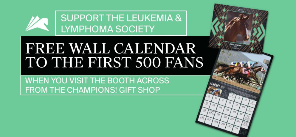 500 Free Wall Calendars for awareness of the Leukemia and Lymphoma Society