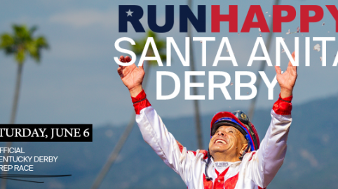 Runhappy Santa Anita Derby Day