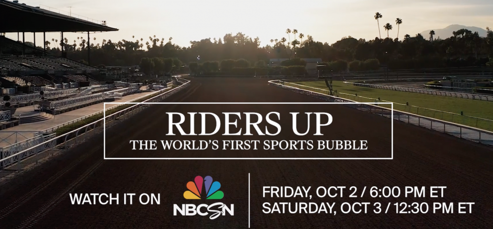 Riders Up: The World's First Sports Bubble