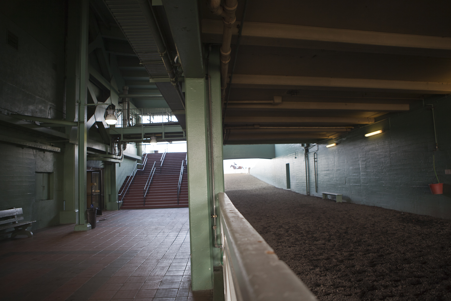 Horse Tunnel onto Main Track