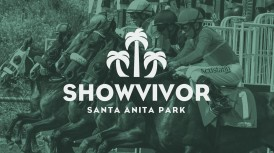 SANTA ANITA TO OFFER $5,000 'SHOWVIVOR' ONLINE BETTING CONTEST; FREE POPULAR WAGER OFFERS TOP PRIZE OF $2,500 & REQUIRES PLAYERS TO SELECT ONE IN-THE-MONEY RUNNER PER DAY