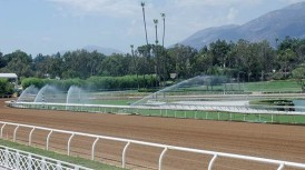 SANTA ANITA'S NEWLY RENOVATED MAIN TRACK TO RE-OPEN FOR TRAINING ON SEPT. 2, ALL-NATURAL 'EL SEGUNDO SAND' SURFACE READY FOR USE