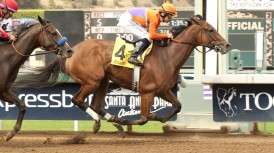 SANTA ANITA STABLE NOTES – (SATURDAY OCTOBER 18, 2014)
