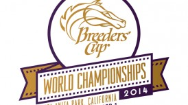 SHARED BELIEF DRILLS IN 1:14 2/5 FOR $5 MILLION BREEDERS' CUP CLASSIC