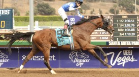 CARY STREET BENEFITS FROM FAST 1 ¾ MILES PACE AND WINS GRADE II, $200,000 LAS VEGAS MARATHON BY 9 ¼ LENGTHS