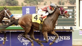 FAVORED MY FIONA IMPRESSIVE IN WINNING $200,000 GOLDEN STATE JUVENILE FILLIES; SOLIS, BEJARANO TEAM FOR THREE-QUARTER LENGTH WIN IN SEVEN FURLONG TEST FOR STATE-BRED DEBUTANTES
