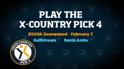 The $500,000 Guaranteed X-Country Pick 4