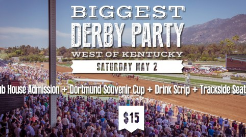 Kentucky Derby Day Trackside Package