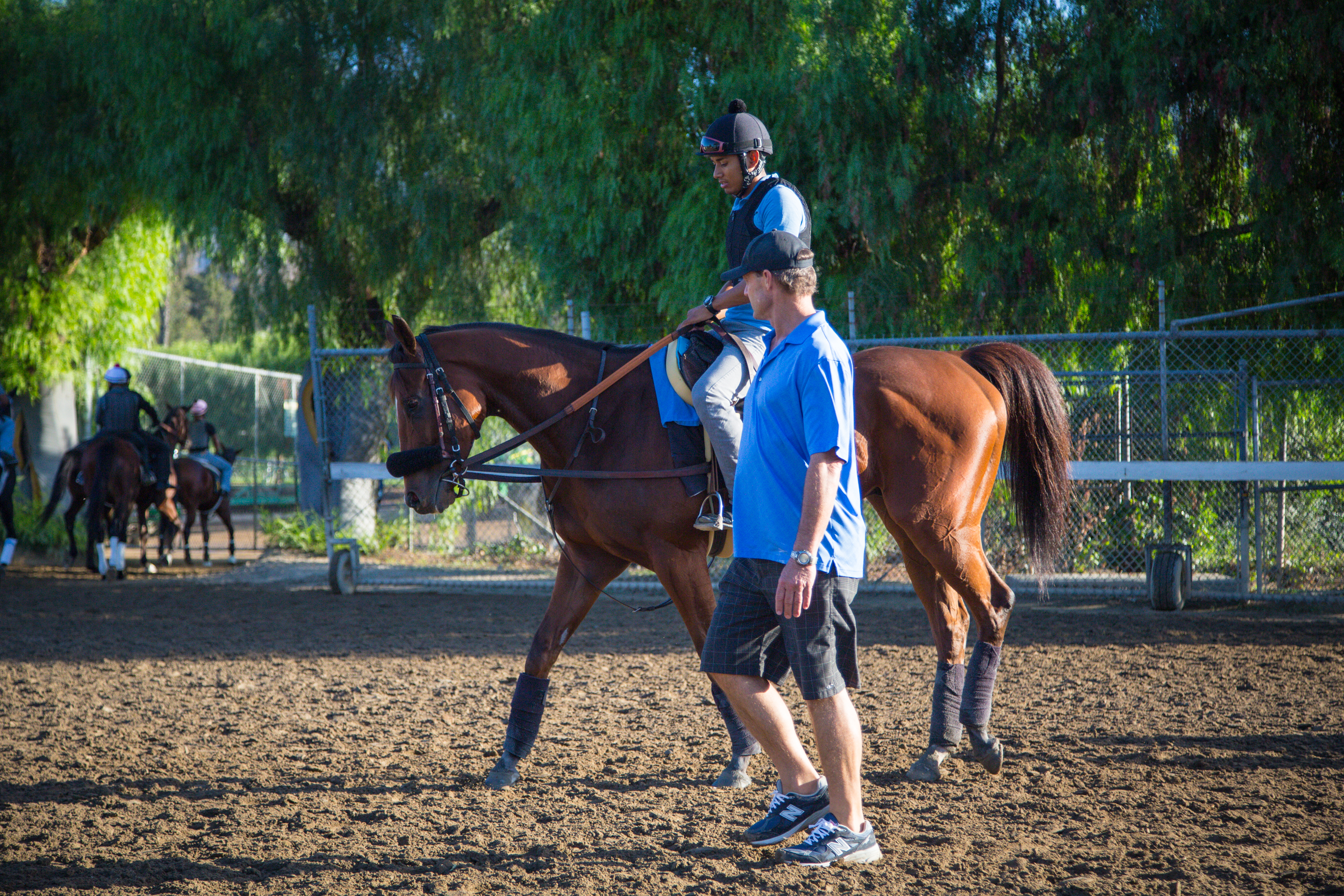 Santa Anita Spotlight Ron Ellis And Masochistic Santa