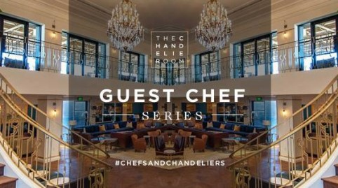 The Guest Chef Series in The Chandelier Room