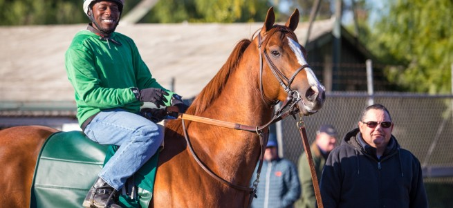 California Chrome and Dihigi Gladney