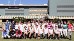 Holy Angels vs. Jockeys Charity Basketball Game