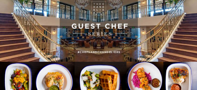 Guest Chef Art Chandelier May 7