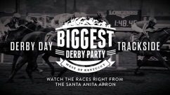 2016 Kentucky Derby Trackside Package