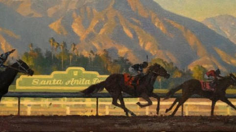 Art Sale Benefiting Retired Racehorses