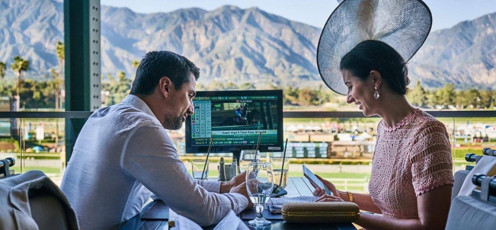 New Year's Day at the Turf Terrace
