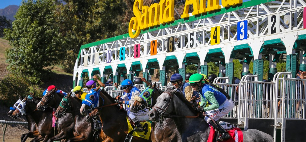 The 500 Winter Challenge Santa Anita Park