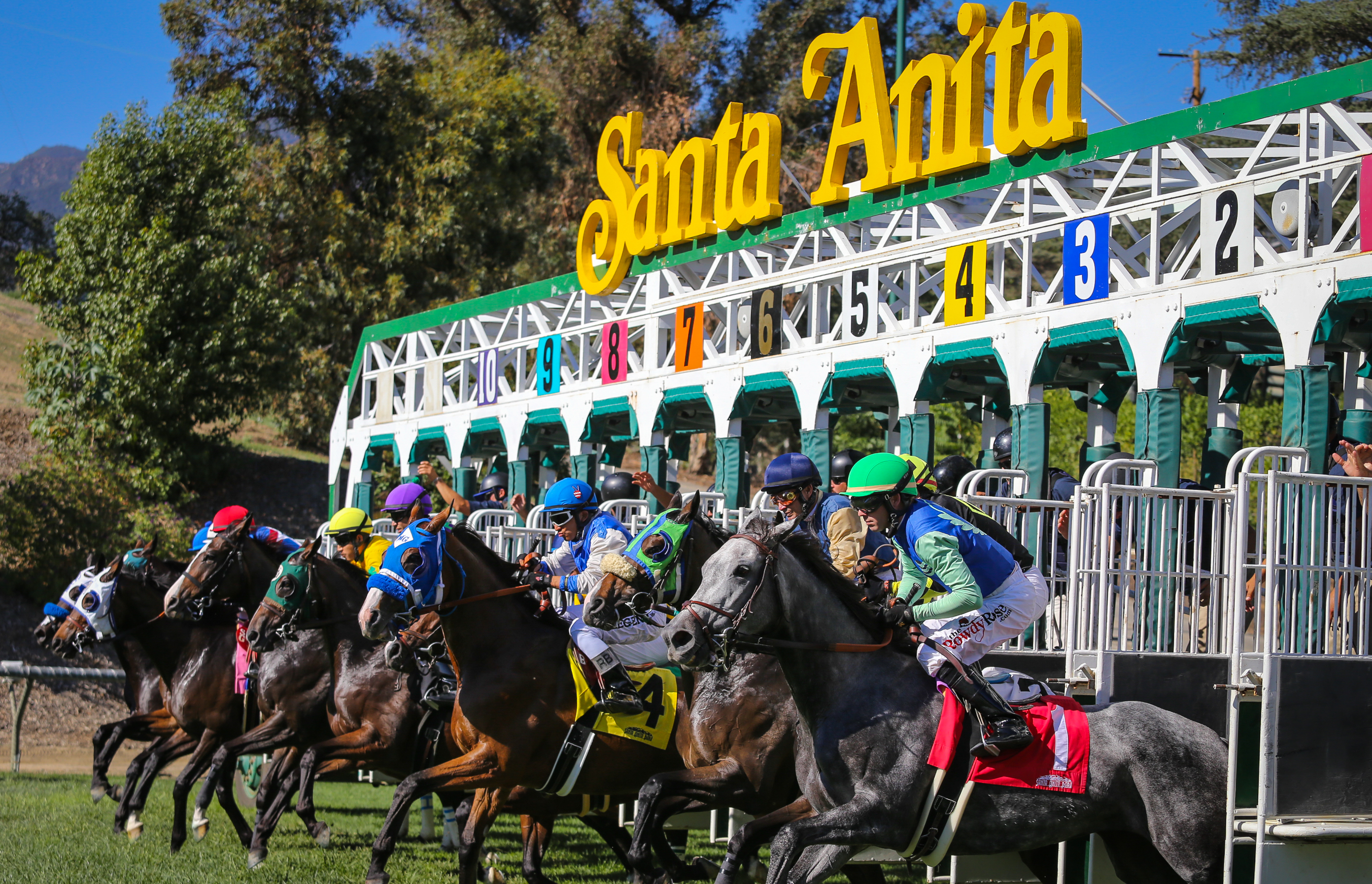 Santa Anita To Offer Expanded 10 Race Holiday Card On