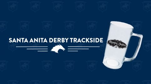 Santa Anita Derby Day Trackside