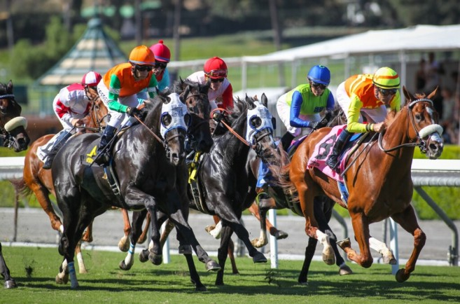 LIVE RACING TO RESUME ON FRIDAY AT SANTA ANITA WITH A NINE