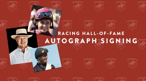 Racing Hall-of-Fame Autograph Signing
