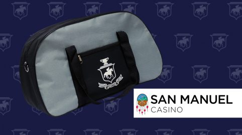 Gym Bag Giveaway presented San Manuel Casino