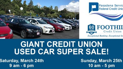 Giant Credit Union Used Car Super Sale (Parking Lot)