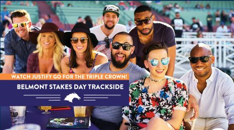 Belmont Stakes Trackside Package